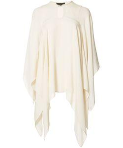 Plein Sud | Silk Cape Blouse Womens Size 40 Silk