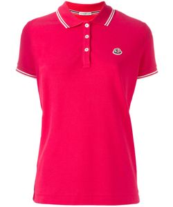 Moncler | Logo Polo Shirt Womens Size Xl Cotton