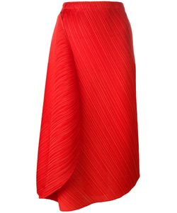 Pleats Please By Issey Miyake | Pleated Midi Skirt Womens Size 3