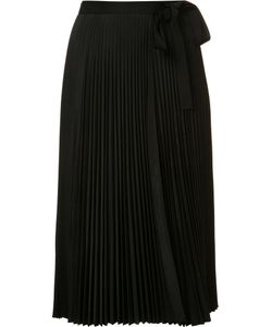 Tome | Pleated Wrap Skirt Womens Size Small Polyester