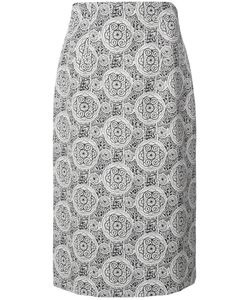 Creatures Of The Wind | Patterned Straight Skirt Womens Size 8