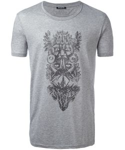 Balmain | Animals Tribal T-Shirt Mens Size Small Cotton