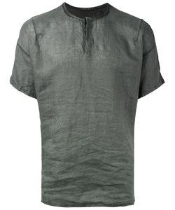 Transit | Henley T-Shirt Mens Size Small Linen/Flax