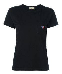Maison Kitsuné   Fox Pocket T-Shirt Womens Size Large Cotton