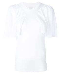 Facetasm | Gathe Panel T-Shirt Womens Size 1 Cupro/Tencel