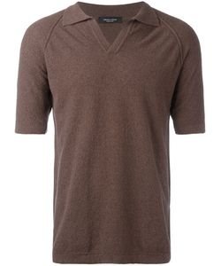 Roberto Collina | Teddy Polo Shirt Mens Size 46 Cotton/Nylon
