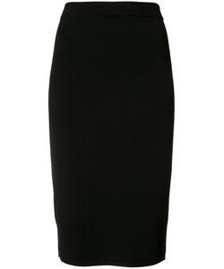 Vince | Pencil Midi Skirt Womens Size Xs Viscose/Polyester