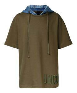 Juun.J | Hooded T-Shirt Mens Size 46 Cotton