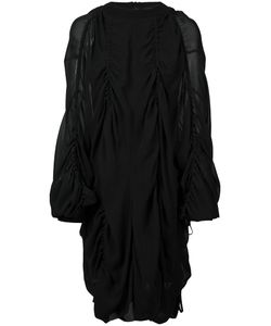 Vera Wang | Draped Pull Over Dress Womens Size 2 Silk/Cotton