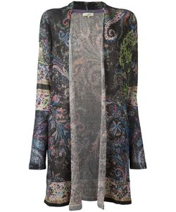 Etro | Printed Cardigan Womens Size 44 Linen/Flax/Polyester