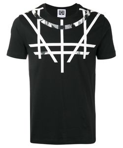 Les Hommes | Geometric Print T-Shirt Mens Size Medium Cotton
