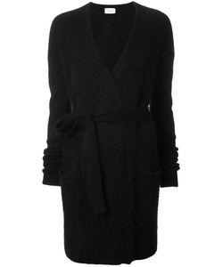 Mugler | Wrap Cardigan Womens Size Medium Angora/Polyamide