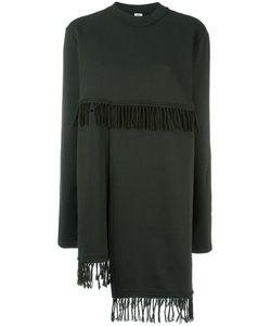 Damir Doma | Watt Fringed Sweatshirt Womens Size Medium Cotton