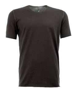 Label Under Construction | Exposed Seam T-Shirt Mens Size 52 Cotton
