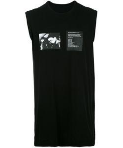 Julius | Sleeveless Printed T-Shirt Size 2 Cotton