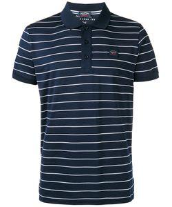 Paul & Shark | Striped Polo Shirt Mens Size Xxxl Cotton
