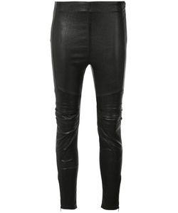 Saint Laurent | Skinny Trousers Womens Size 36 Cotton/Spandex/Elastane/Lamb Skin