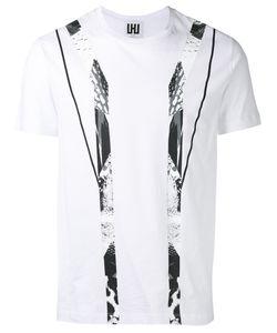 Les Hommes | Geometric Print T-Shirt Mens Size Xxl Cotton