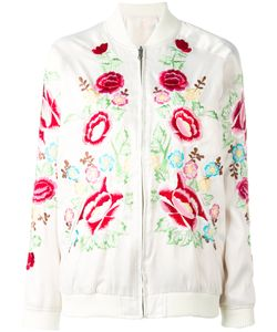 P.A.R.O.S.H. | Nylo Reversible Bomber Jacket Womens Size Medium Polyester