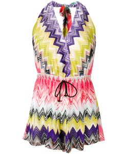 Missoni | Zig-Zag Print Drawstring Playsuit Womens Size 42 Viscose