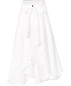 Lisa Marie Fernandez   Bow Detail Pleated Skirt Womens Linen/Flax
