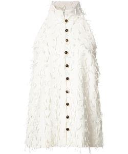Novis | Sleeveless Shirt Womens Size 6 Silk/Cotton
