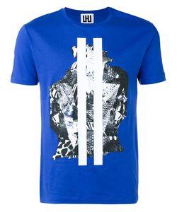 Les Hommes Urban   Graphic Print T-Shirt Mens Size Medium Cotton