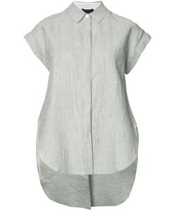 Rag & Bone | Button-Top Blouse Womens Size Large Cotton/Linen/Flax/Polyester