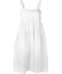 Iceberg | Fla Sleeveless Dress Size 40 Cotton