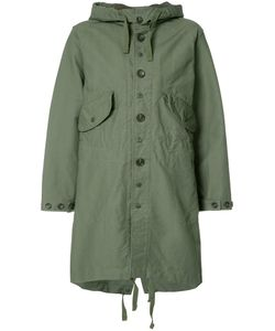 Engineered Garments | Buttoned Military Coat Womens Size 0 Cotton