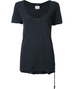 Ksubi | Scoop Neck T-Shirt Womens Size Xs Cotton/Silk