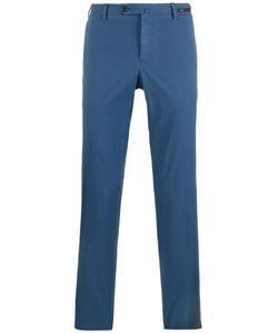 Pt01 | Straight-Cut Chino Trousers Mens Size 54 Cotton/Spandex/Elastane