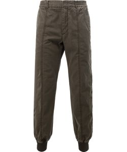 Juun.J | Elasticated Cuffs Trousers Mens Size 50 Cotton/Polyester