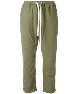 Freecity | Drawstring Cropped Pants Womens Size Small Hemp