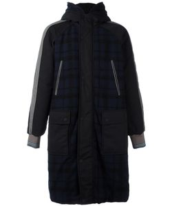 Andrea Pompilio | Quilted Coat Mens Size 50 Wool/Polyamide/Alpaca/Polyester