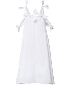 Maison Rabih Kayrouz   Knot Detail Fla Dress Womens Size 36