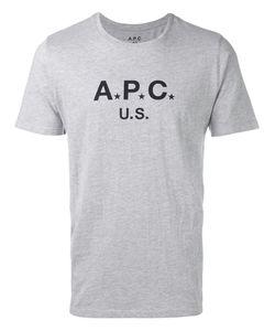 A.P.C. | Logo T-Shirt Mens Size Large Cotton/Polyester