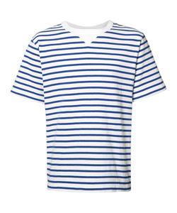 Sacai | Striped T-Shirt Mens Size 2 Cotton