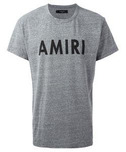 Amiri | Logo Print T-Shirt Mens Size Large Cotton/Polyester/Rayon