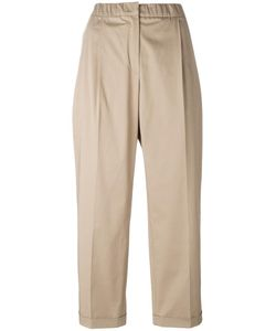 Odeeh | Cropped Trousers Womens Size 34 Cotton/Spandex/Elastane