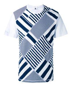 Ganryu Comme Des Garcons | Stripes T-Shirt Mens Size Medium Cotton