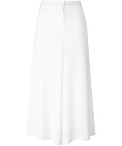Demoo Parkchoonmoo | Wide Leg Cropped Trousers Womens Size 38 Polyester