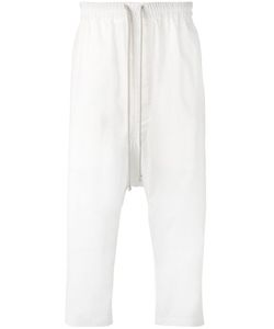 Rick Owens   Drop-Crotch Cropped Trousers Mens Size 48 Cotton