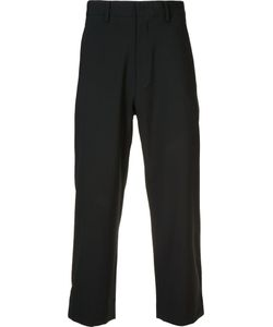 Second/Layer | Tailo Cropped Trousers Mens Size 36 Cotton/Spandex/Elastane/Virgin Wool