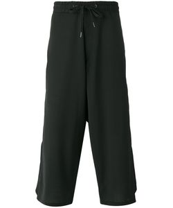 D.Gnak   Cropped Laye Trousers Mens Size 32 Wool/Spandex/Elastane/Polyester