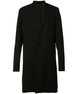 Rick Owens   Long-Length Coat Mens Size 48 Wool/Viscose