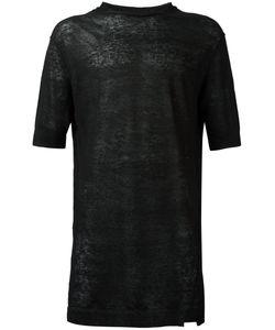 Damir Doma | Fine Knit T-Shirt Mens Size Small Linen/Flax