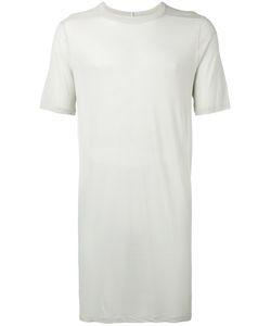 Rick Owens   Long Lenght T-Shirt Mens Size Medium Silk/Viscose