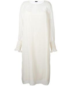 The Row   Maver Dress Womens Size Small Silk
