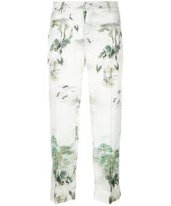 For Restless Sleepers | Tartaro Pyjama Trousers Womens Size Medium Silk